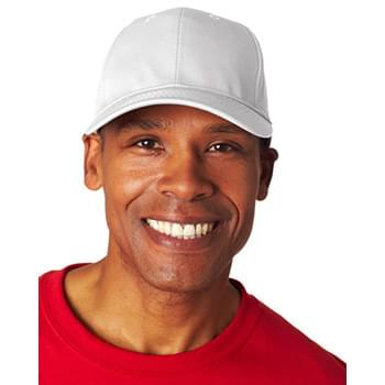 Adult Classic Cut Cotton Twill6-Panel Cap