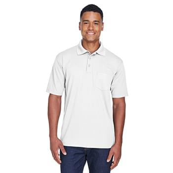 Adult Cool & Dry Mesh Piqu?Polo with Pocket