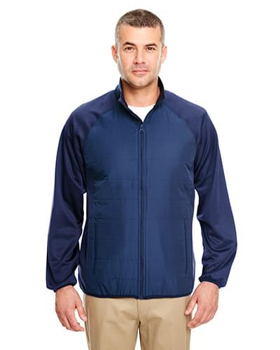 Adult Cool & Dry Quilted Front Full-Zip Lightweight Jacket