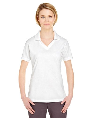 Ladies' Platinum Performance Jacquard Polo withTempControl Technology