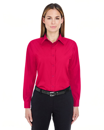 Ladies' Performance Poplin
