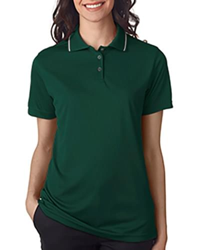 Ladies' Cool & Dry Sport Polo with Tipped Collar