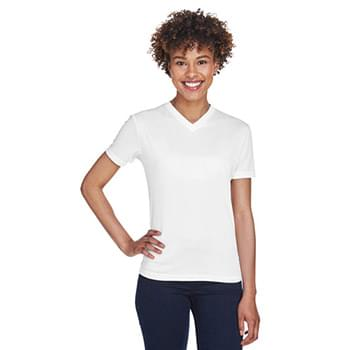 Ladies' Cool & Dry Sport V-Neck T-Shirt