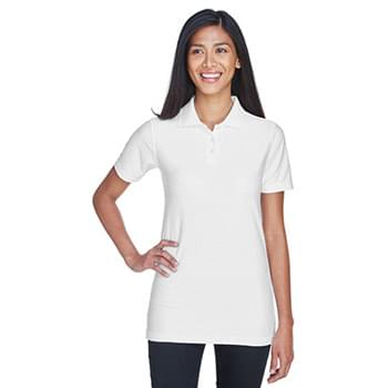 Ladies' Cool & Dry Elite Tonal Stripe Performance Polo