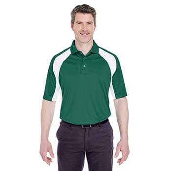 Adult Cool & Dry Sport Performance Colorblock Interlock Polo