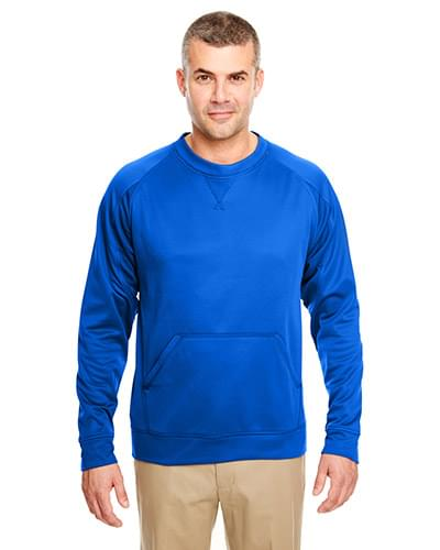 Adult Cool & Dry Sport Crew Neck Fleece