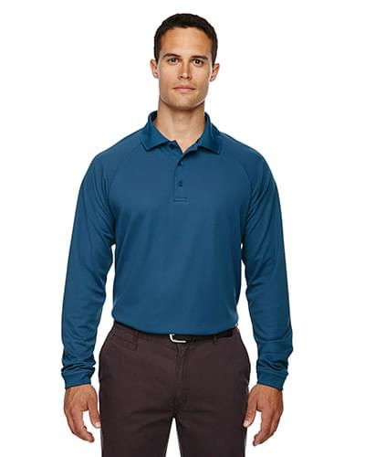 Eperformance Men's Long-Sleeve Piqu Polo