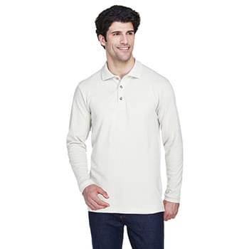 Adult Long-Sleeve Classic Piqu? Polo