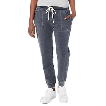 Ladies' Long Weekend Burnout French Terry Pants