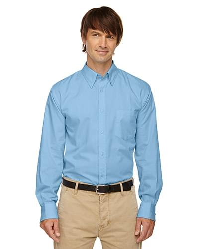 Men's Yarn-Dyed Wrinkle-Resistant Dobby Shirt