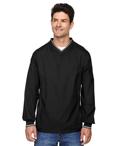 Adult V-Neck Unlined Wind Shirt