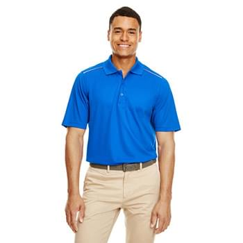 Men's Radiant Performance Piqu? Polo with?Reflective Piping