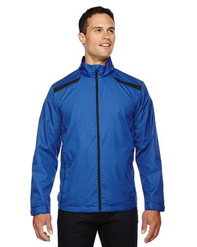 Men's Tempo Lightweight Recycled Polyester Jacket with Embossed Print