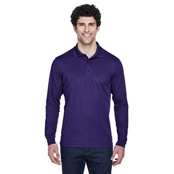Men's Pinnacle Performance Long-Sleeve Piqu? Polo