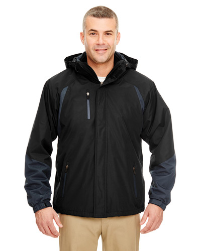 Adult Colorblock 3-in-1 Systems Hooded Jacket