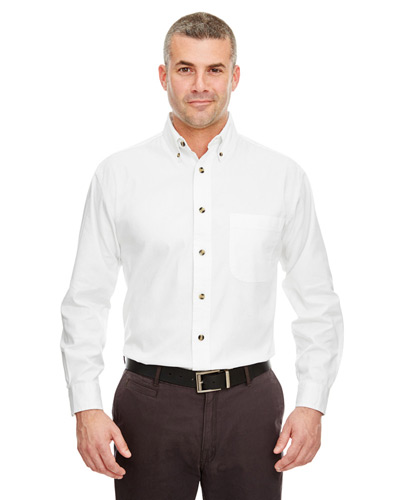 Adult Cypress Long-Sleeve Twill with Pocket
