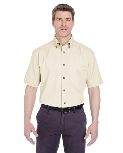 Adult Cypress Short-Sleeve Twill with Pocket