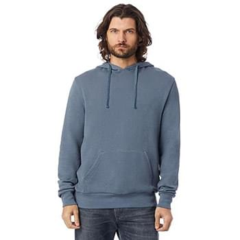Unisex 6.5 oz., Challenger Washed French Terry Hooded Pullover Sweatshirt