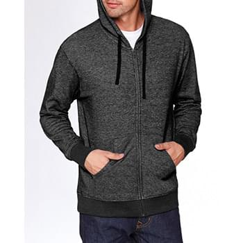 Adult Denim Fleece Full-Zip Hoodie