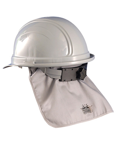 Unisex Miracool Flame Resistant Hard Hat Pad with Shade HRC1