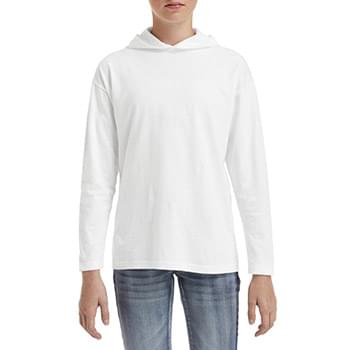 Youth Long-Sleeve Hooded?T-Shirt