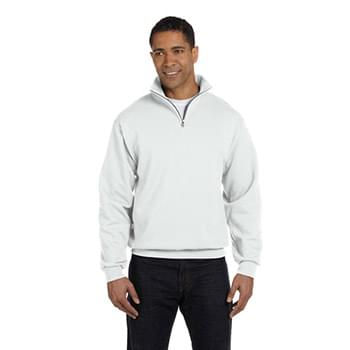 Adult 8 oz. NuBlend Quarter-Zip Cadet Collar Sweatshirt