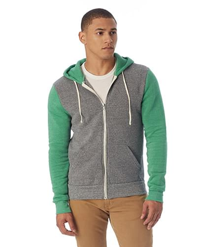 Unisex Rocky Eco-Fleece Colorblocked Hoodie