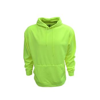 Adult Performance Pullover Hood with Bonded Polar Fleece
