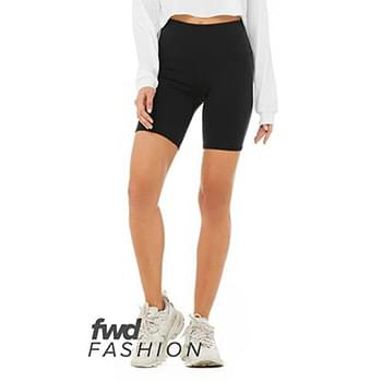 Ladies' High Waist Biker Short