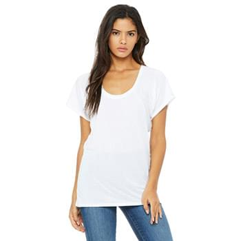 Ladies' Flowy Raglan T-Shirt