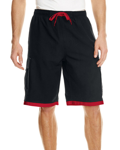 Mens Striped Swim Short