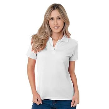 Junior's 6.2 oz., 100% Cotton V-Neck Polo
