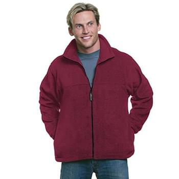 Unisex Full-Zip Polar Fleece Jacket