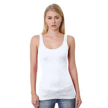 Junior's 4.2 oz., Fine Jersey Tank Top