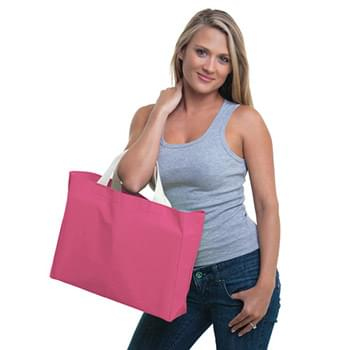12 oz., Cotton Canvas Medium Gusset Tote