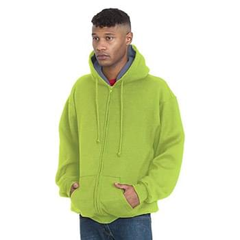 Adult Super Heavy Thermal-Lined Full-Zip Hooded Sweatshirt