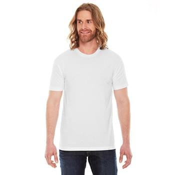 Unisex Poly-Cotton Short-Sleeve Crewneck