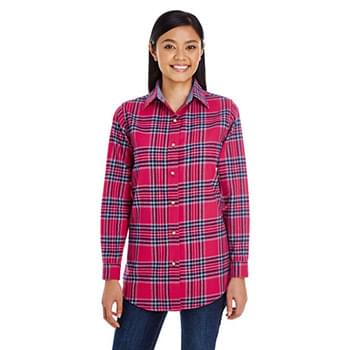 Ladies' Yarn-Dyed Flannel Shirt