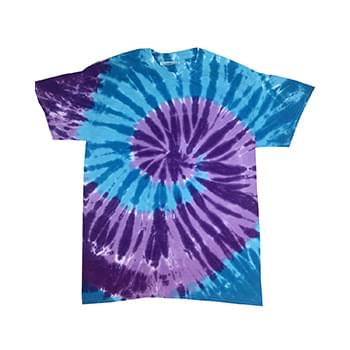 Adult 5.4 oz., 100% Cotton Islands Tie-Dyed T-Shirt
