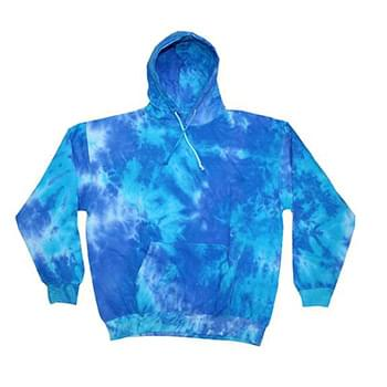 Adult Tie-Dyed Pullover Hooded Sweatshirt