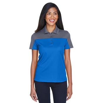 Ladies' Balance Colorblock Performance Piqu? Polo