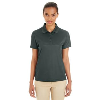Ladies' Express Microstripe Performance Piqu? Polo