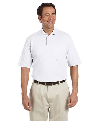 Performance Plus Piqu Polo with Pocket