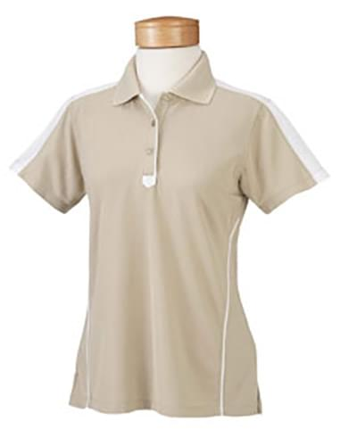 Ladies  Piped Technical Performance Polo