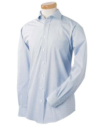 Men's Executive Performance Broadcloth with Spread Collar