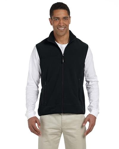Polartec Colorblock Full-Zip Fleece Vest