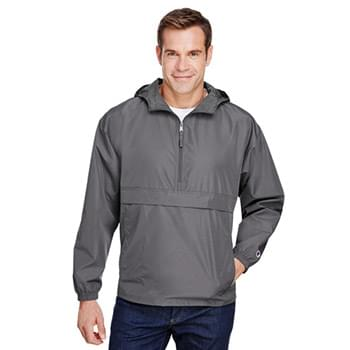 Adult Packable Anorak 1/4 Zip Jacket