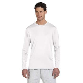 Adult 4.1 oz. Double Dry? Long-Sleeve Interlock T-Shirt