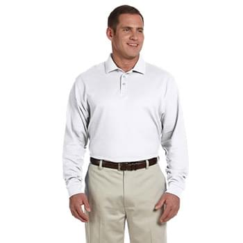 Men's Pima Piqu? Long-Sleeve Polo