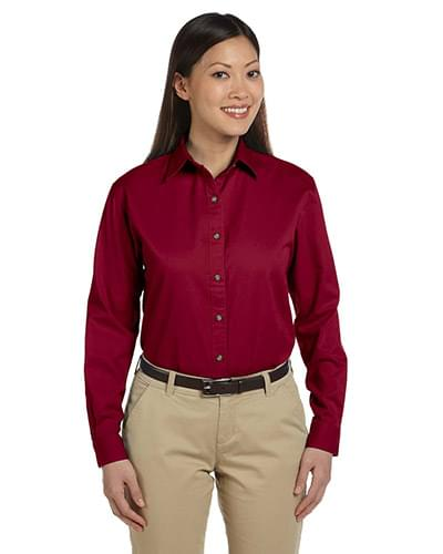 Ladies' Long-Sleeve Titan Twill